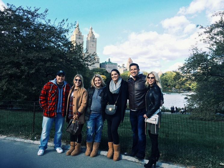 A family photo captured in NYC @central park
